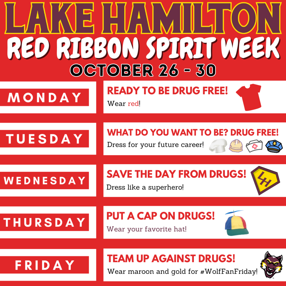 Drug Free Spirit Week