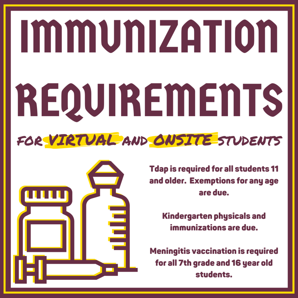 Immunization Requirements