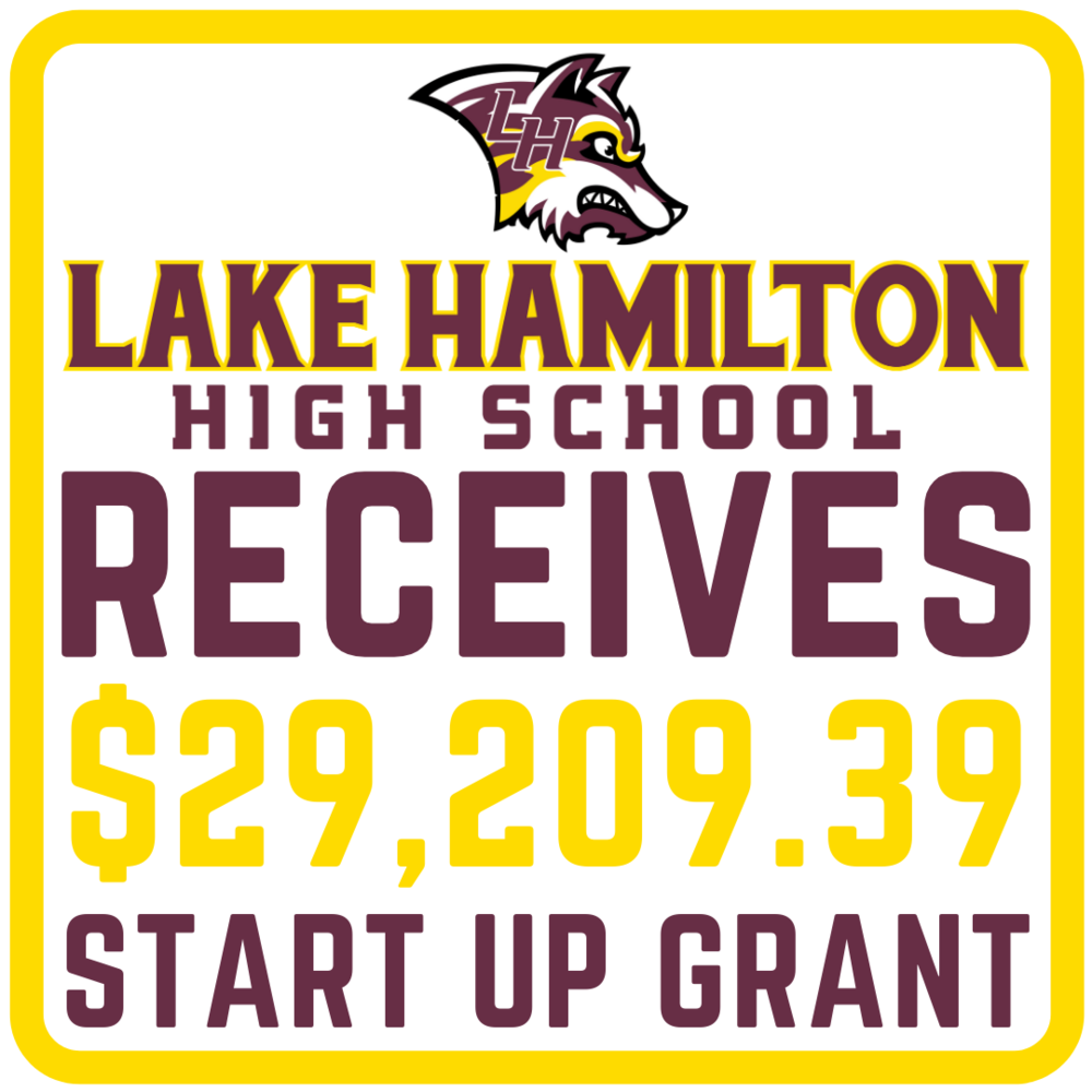 LHHS Receives $29,209.39 Start Up Grant