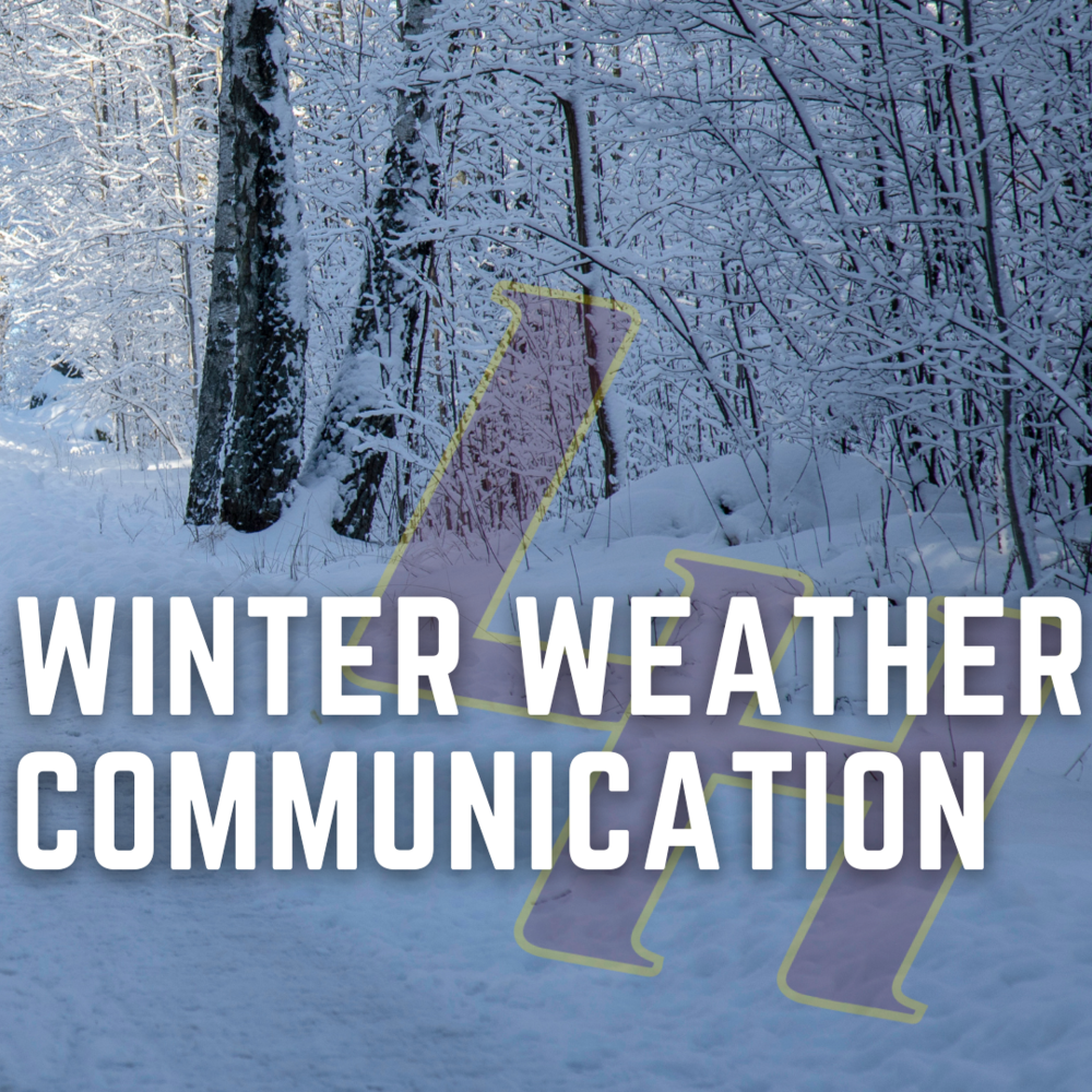 Winter Weather Communication