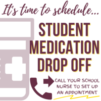 Student Medication Drop Off