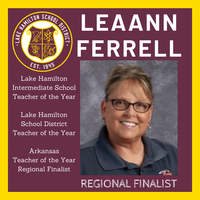 Arkansas Teacher of the Year Regional Finalist