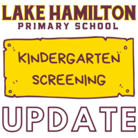 Kindergarten Screening Update