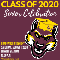 Class of 2020 Senior Celebration Graduation Ceremony
